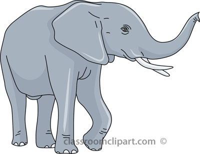 Elephant clipart transparent - ClipartFest banner black and white stock