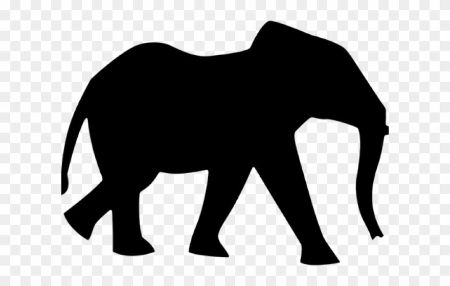 Elephant clipart silhouette jpg freeuse library Asian Elephant Clipart Umbrella Silhouette - Silhouette Of A ... jpg freeuse library