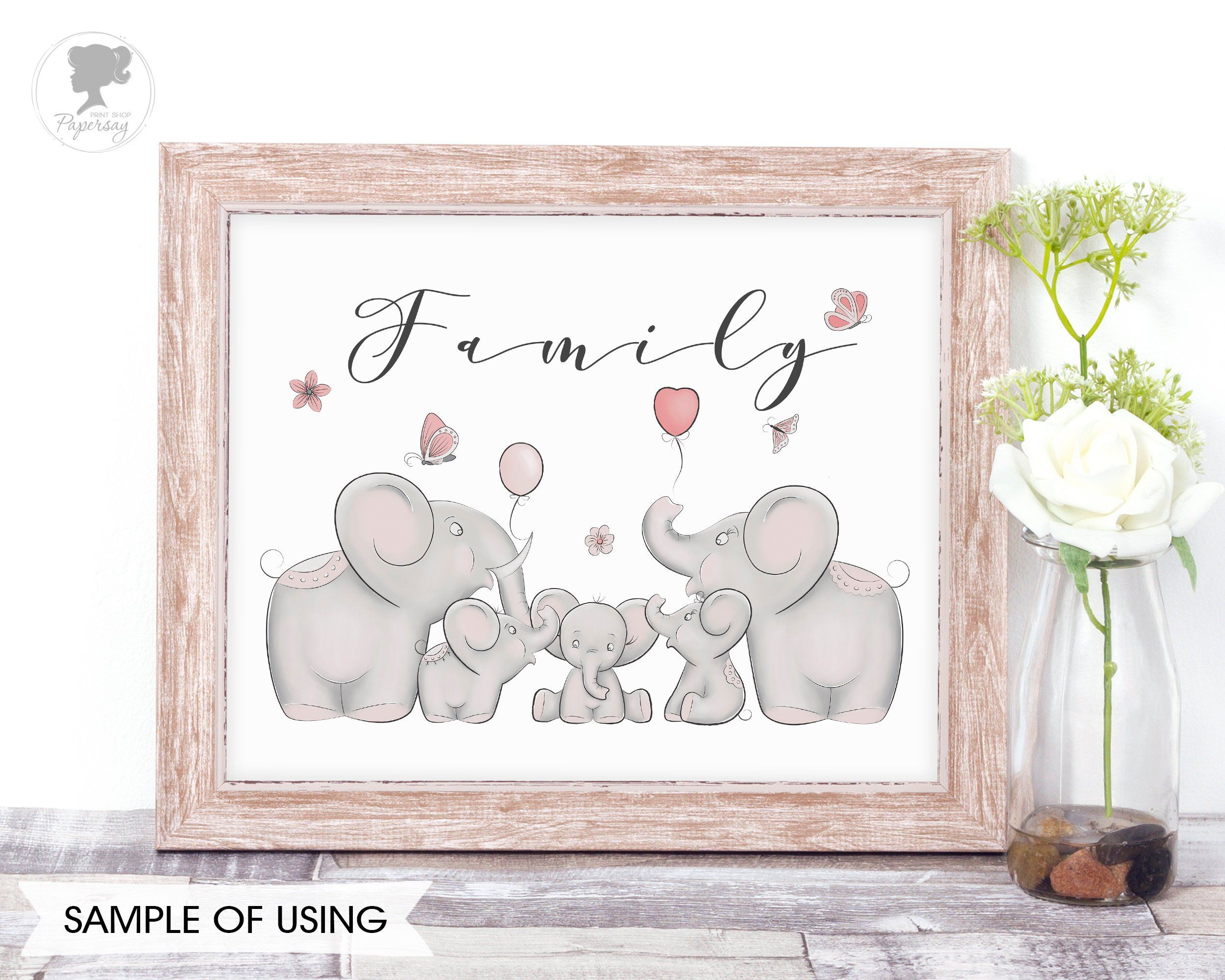 Elephant family clipart png black and white Elephant family clipart Elephant pattern Baby elephant Grey | Old ... png black and white