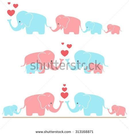 Elephant family clipart clip art black and white library Image result for elephant family clipart | Quilts | Elephant family ... clip art black and white library