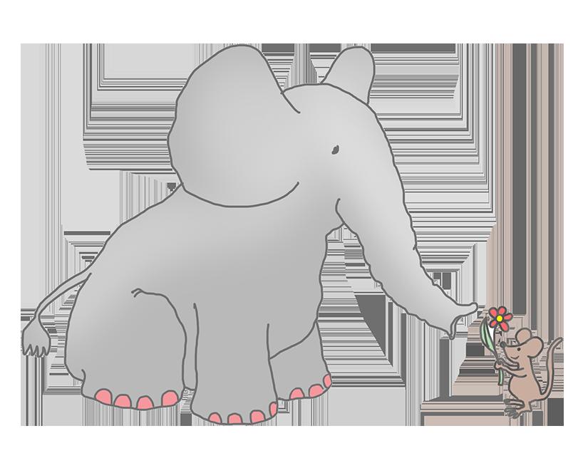 Elephant following elephant clipart clipart freeuse library Elephant Clip Art clipart freeuse library