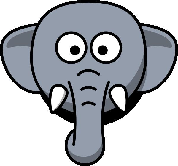 Elephant following elephant clipart clipart transparent stock Easy elephant clipart - ClipartFest clipart transparent stock
