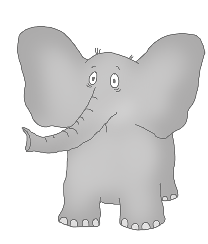 Elephant following elephant clipart png library Elephant Clip Art png library
