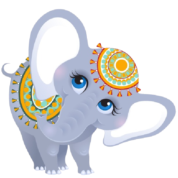 Elephant reading a book clipart free download Funny Female Circus Elephant | Elephants | Pinterest | Clip art and ... free download