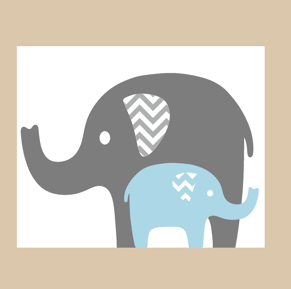 Elephant with baby elephant clipart banner royalty free Mama baby elephant clipart - ClipartFest banner royalty free