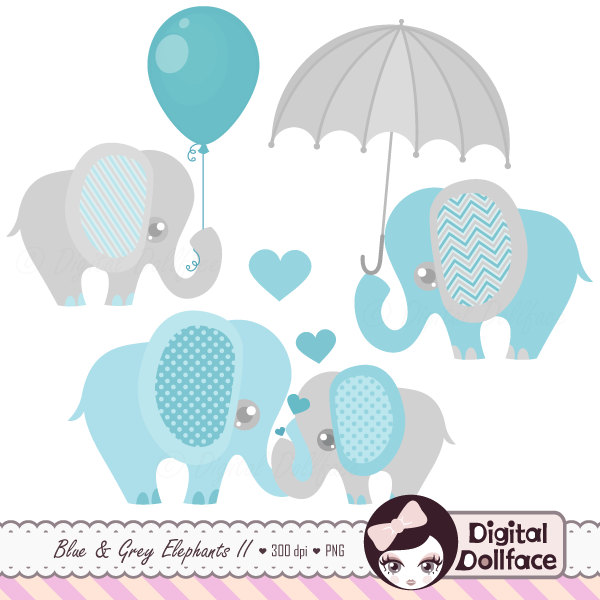 Elephant with baby elephant clipart clip black and white download Blue baby elephant clipart - ClipartFest clip black and white download