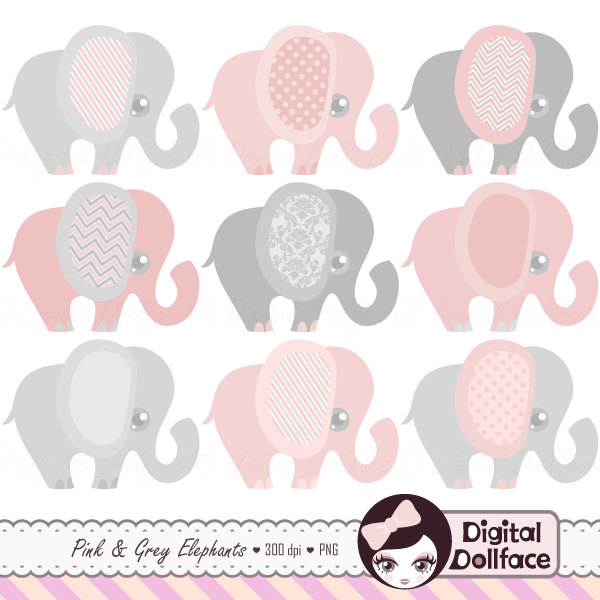 Elephant with baby elephant clipart clip free download Pink baby elephant clip art - ClipartFest clip free download