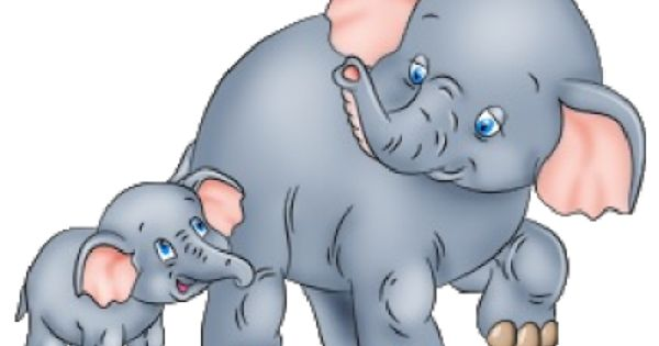 Elephant with baby elephant clipart png library Cartoon Elephants | Baby Elephant Page 2 - Cute Cartoon Elephant ... png library