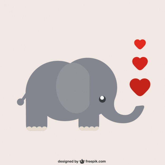 Elephant with hearts clipart clipart Elephant Vectors, Photos and PSD files | Free Download clipart