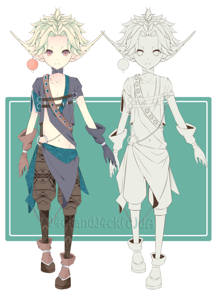 Elf anime clipart vector free Elves anime clipart images gallery for free download | MyReal clip ... vector free