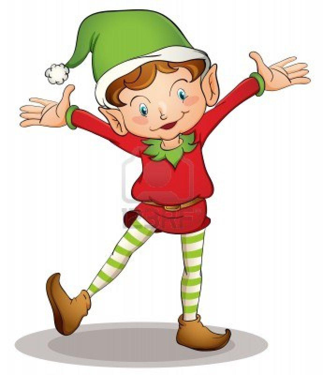 Elf christmas clipart