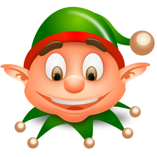 Cute christmas elf clipart freeuse download Elf head clipart png - ClipartFest freeuse download