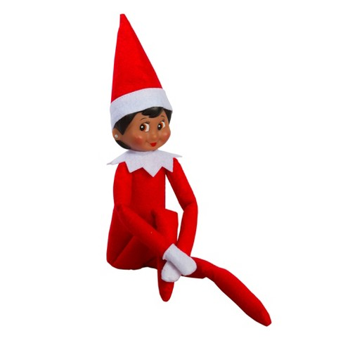 Elf on the shelf boy clipart no hat picture transparent library The Elf on the Shelf®: A Christmas Tradition with Dark Skin Tone Girl Scout  Elf picture transparent library