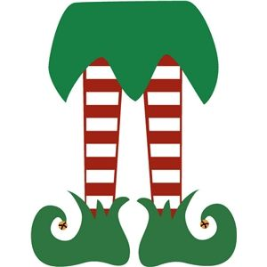 Elf shoes clipart black and white free image free library Elf legs | Christmas | Elf legs, Christmas wood, Christmas printables image free library