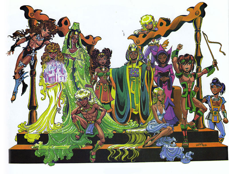 Elfquest character clipart clipart free download Elfquest - The Elfquest Who's Who clipart free download