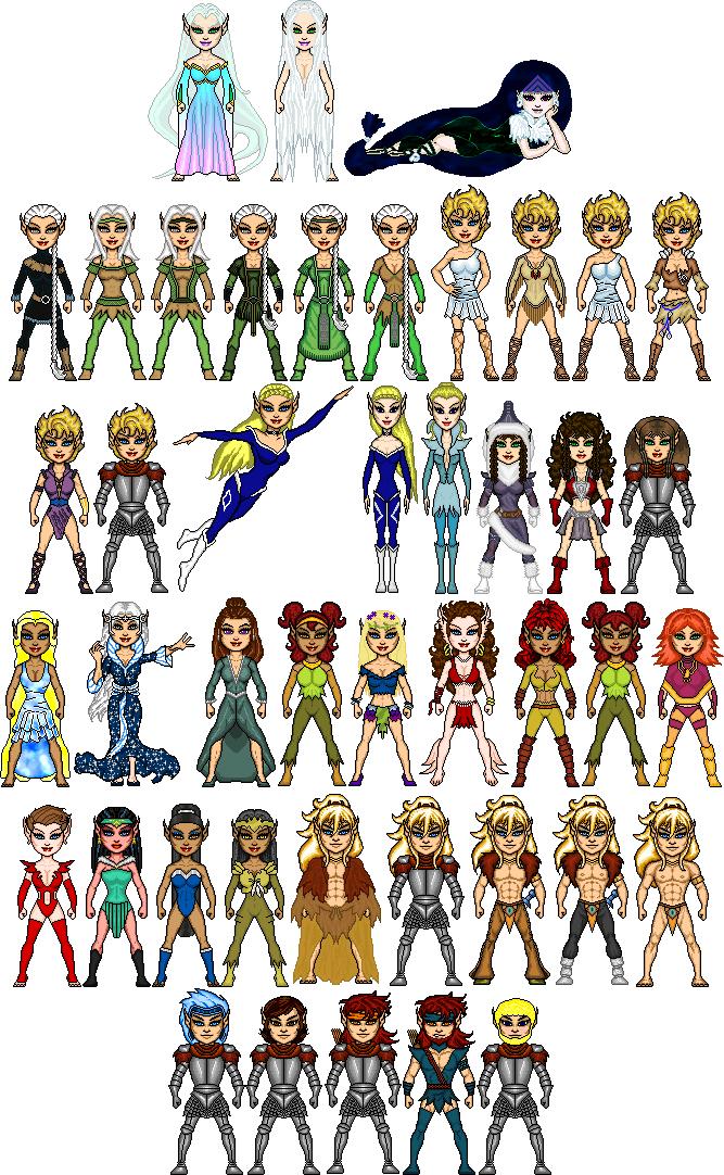 Elfquest character clipart jpg download venka - DeviantArt jpg download