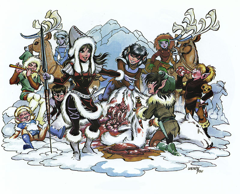 Elfquest character clipart banner royalty free library Elfquest - The Elfquest Who's Who banner royalty free library