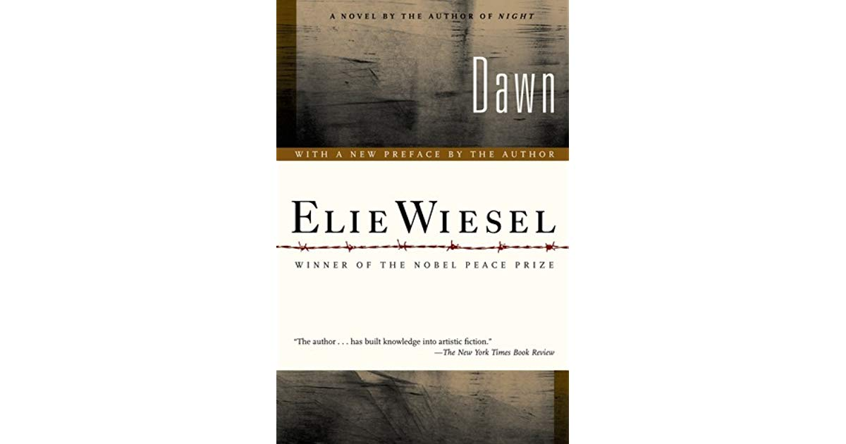 Elie wiesel night selection left or right clipart svg royalty free Dawn (The Night Trilogy, #2) by Elie Wiesel svg royalty free