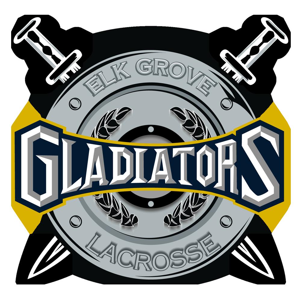 Grove gladiators lacrosse new. Elk football player clipart