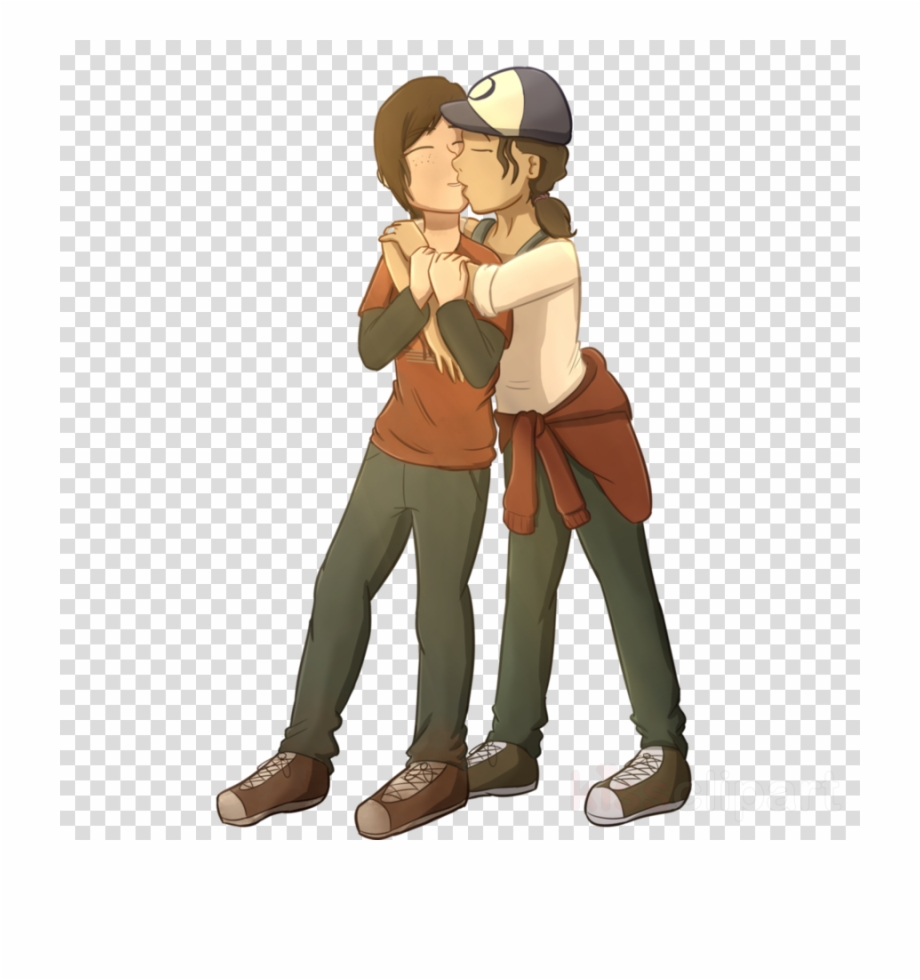 Ellie clipart jpg black and white Download Ellie And Clementine Kiss Clipart Clementine - Clementine ... jpg black and white
