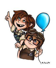 Ellie clipart banner transparent 384 Best UP! images in 2019 | Disney magic, Up pixar, Caricatures banner transparent
