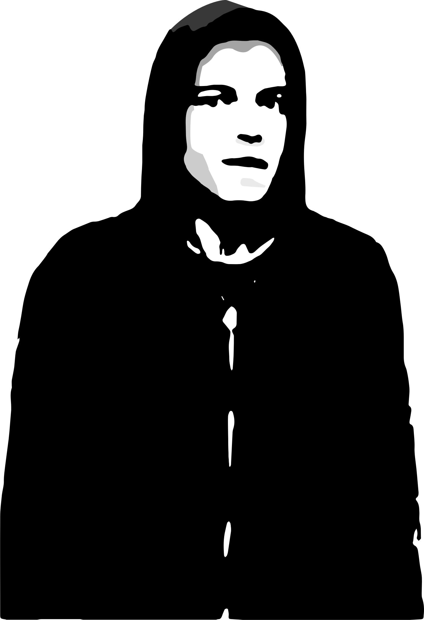 Elliot alderson clipart clipart black and white stock Mr. Robot Elliot Alderson Portable Network Graphics Clip art Image ... clipart black and white stock