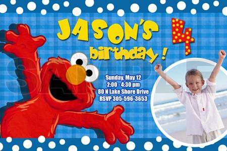 Elmo 1st birthday clipart clipart stock ELMO SESAME STREET BIRTHDAY PARTY INVITATION PHOTO 1ST BABY CUSTOM ... clipart stock