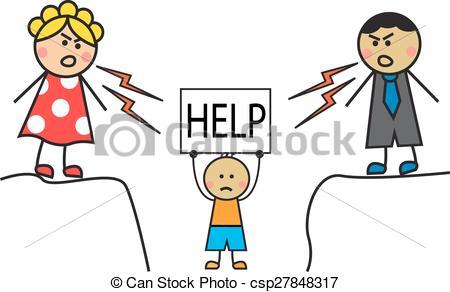 Eltern kind clipart transparent library Vektor Clip Art von Mißbraucht, eltern, kind - karikatur, eltern ... transparent library