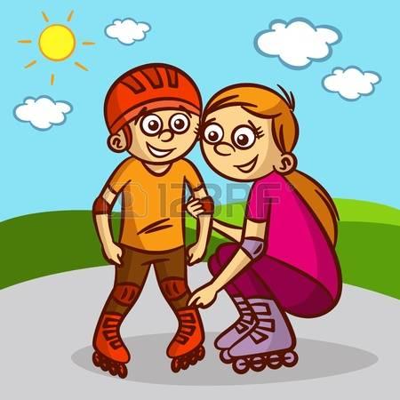 Eltern mit kind clipart graphic free library Eltern Und Kind Lizenzfreie Vektorgrafiken Kaufen: 123RF graphic free library