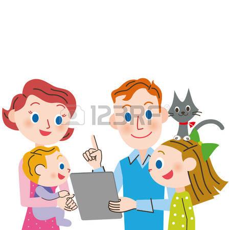 Eltern mit kind clipart clip royalty free download Eltern Und Kind Lizenzfreie Vektorgrafiken Kaufen: 123RF clip royalty free download