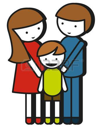 Eltern mit kind clipart svg royalty free stock Eltern Mit Kinder Lizenzfreie Vektorgrafiken Kaufen: 123RF svg royalty free stock