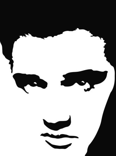 Elvis clipart graphics free picture freeuse Elvis Presley Silhouette Clip Art Clipart - Free Clipart | templates ... picture freeuse