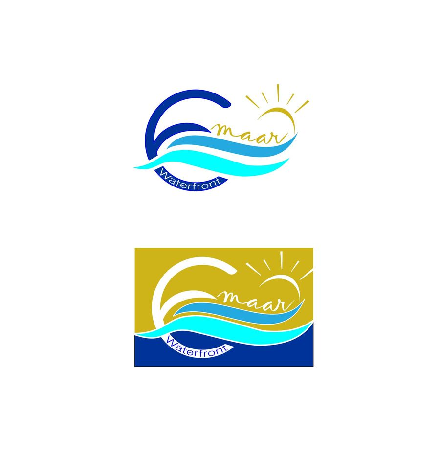 Emaar logo clipart picture royalty free Entry #70 by harsodesign for Design a Logo for a premium Dubai Beach ... picture royalty free
