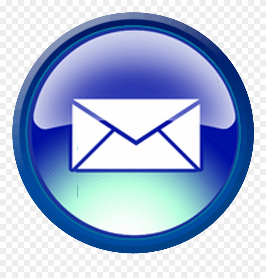 Email button clipart jpg free download Contact Information - Email Button Clipart (#1683322) - PinClipart jpg free download