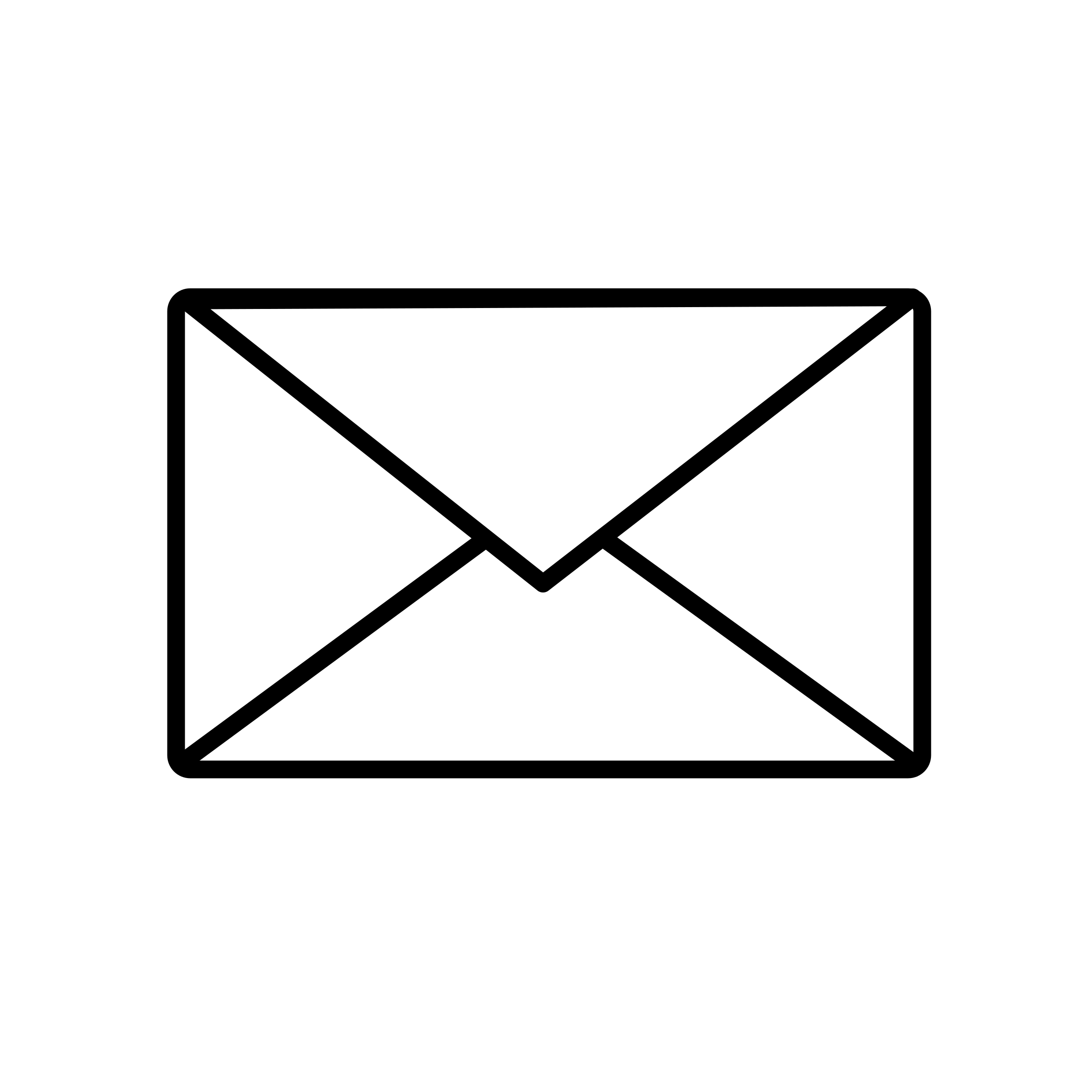 Email clipart icon white