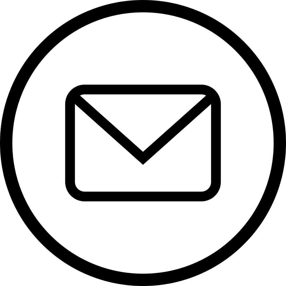 Email icon clipart free download image black and white Free e mail icon clipart images gallery for free download   MyReal ... image black and white