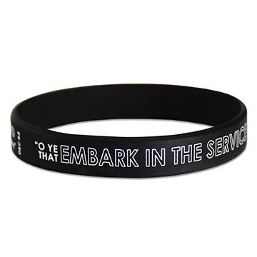 Embark in the service of god bottlecap clipart clip art black and white library Mutual Theme Wristband- Embark in the Service of God | need | Youth ... clip art black and white library