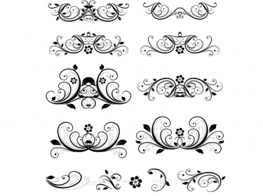 Wedding invitation flower clipart clip freeuse Free Embellishments Cliparts, Download Free Clip Art, Free Clip Art ... clip freeuse