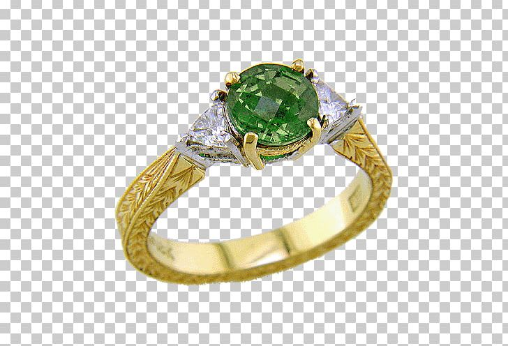 Emerald ring clipart free download Emerald Ring Tsavorite Diamond Garnet PNG, Clipart, Colored Gold ... free download