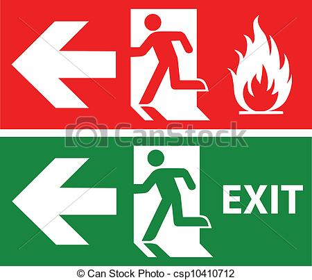 Emergency exit clipart picture royalty free Vector - Emergency exit | Clipart Panda - Free Clipart Images picture royalty free