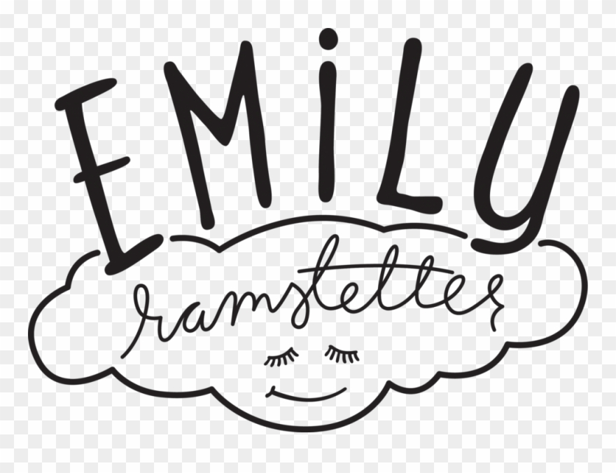 Emily clipart picture royalty free Birdie Baby Shower Hand Lettering & Illustration Emily Clipart ... picture royalty free
