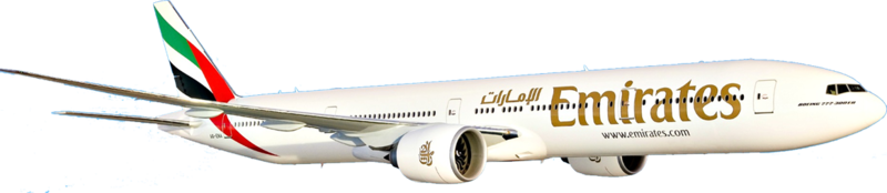 Emirates clipart png freeuse Download Free png pin Airplane clipart emirates - DLPNG.com png freeuse