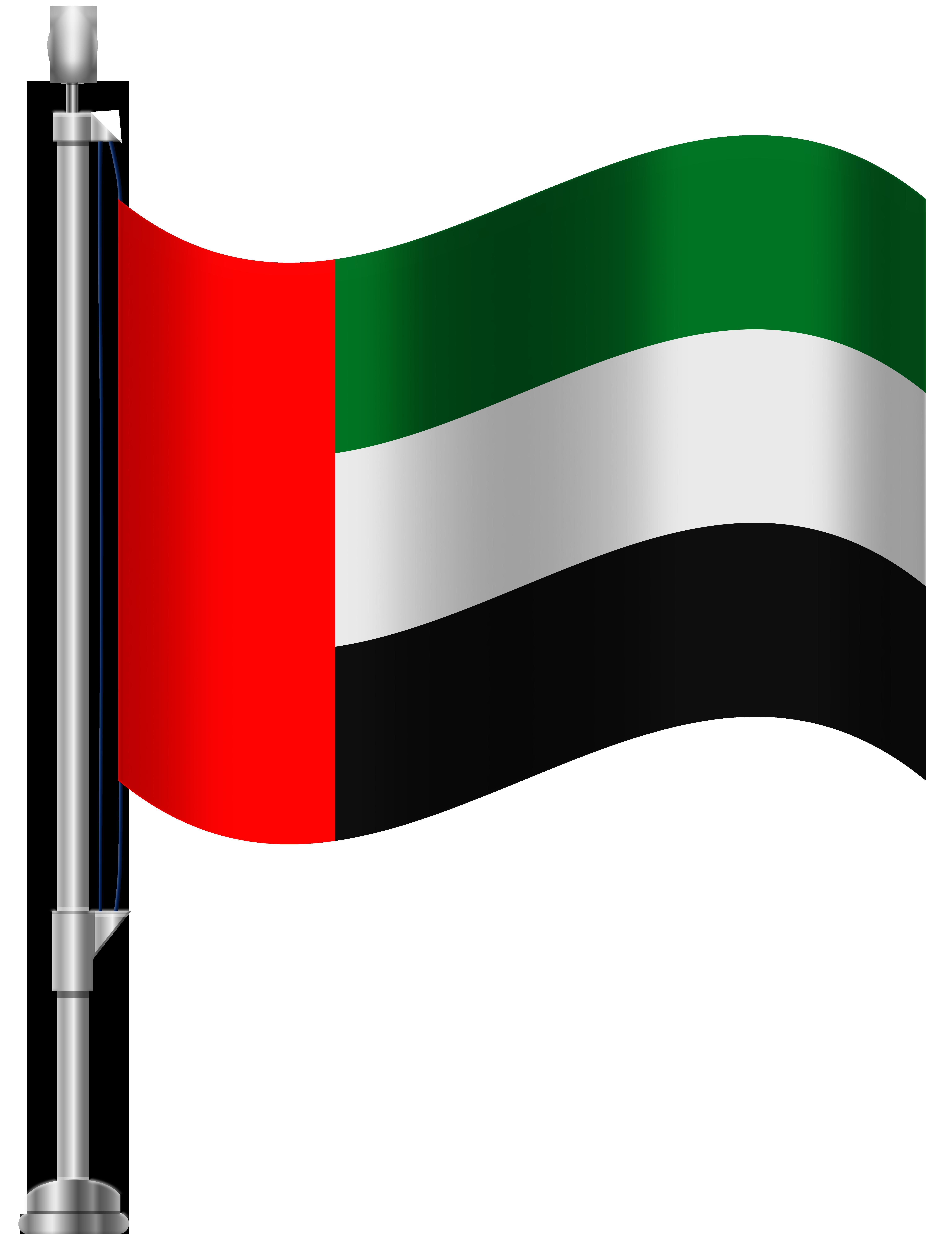 Emirates clipart svg free United Arab Emirates Flag PNG Clip Art - Best WEB Clipart svg free