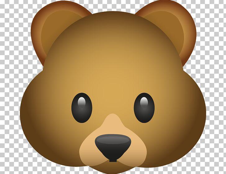 Emoji animals clipart image transparent download Bear Emoji Emoticon PNG, Clipart, Animals, Bear, Carnivoran, Cartoon ... image transparent download