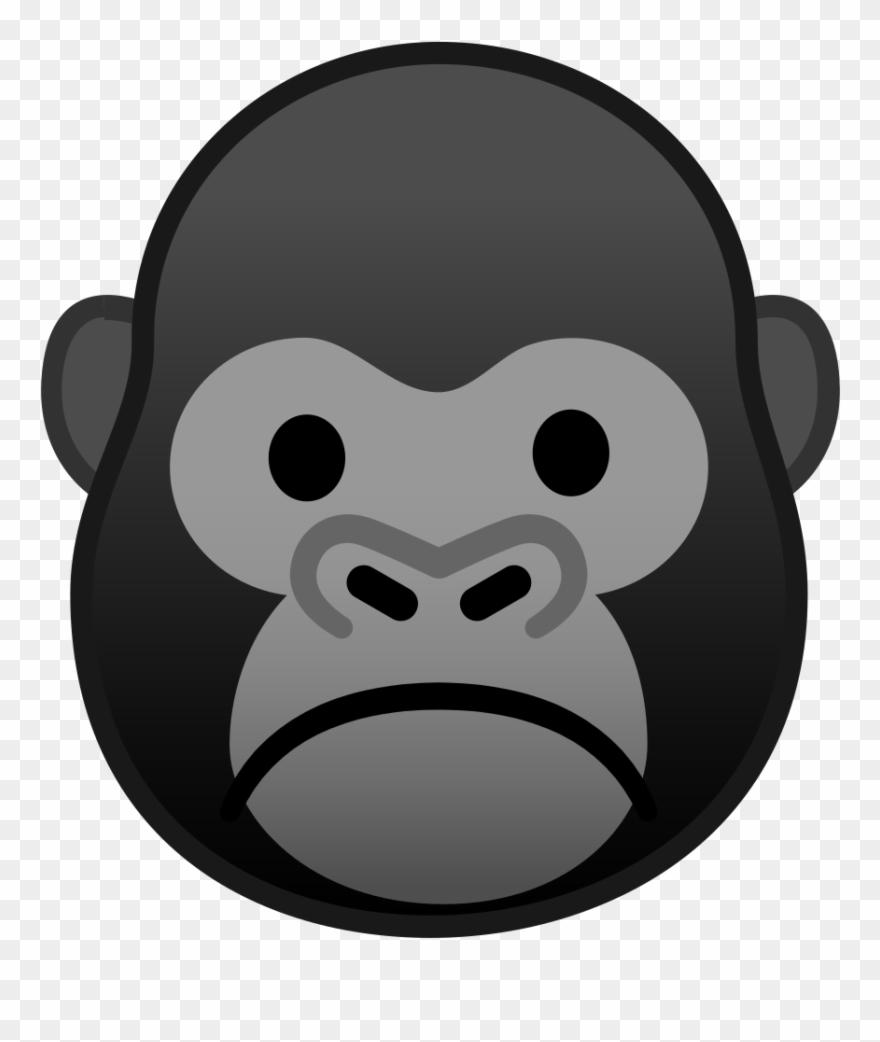 Emoji animals clipart clip art royalty free download Banner Freeuse Download Icon Noto Emoji Animals - Gorilla Emoji ... clip art royalty free download