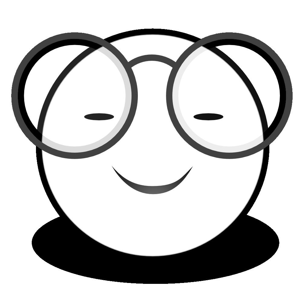 Emoji clipart black and white free free library Smiley Face Clip Art Black And White | Clipart Panda - Free ... free library