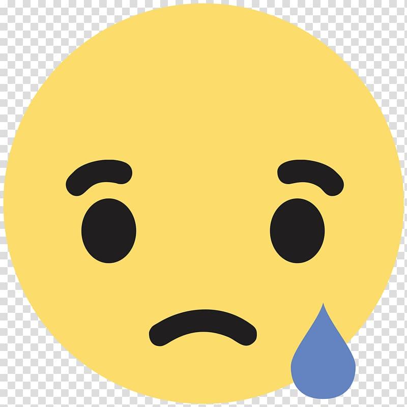 Emoji facebook clipart svg black and white Sad emoji illustration, Facebook Like button Sadness Emoticon, emoji ... svg black and white
