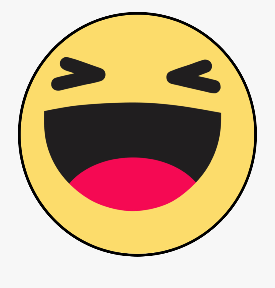 Emoji facebook clipart png black and white library Emoticon Like Button Haha Facebook Emoji - Facebook Emoji Icon Png ... png black and white library