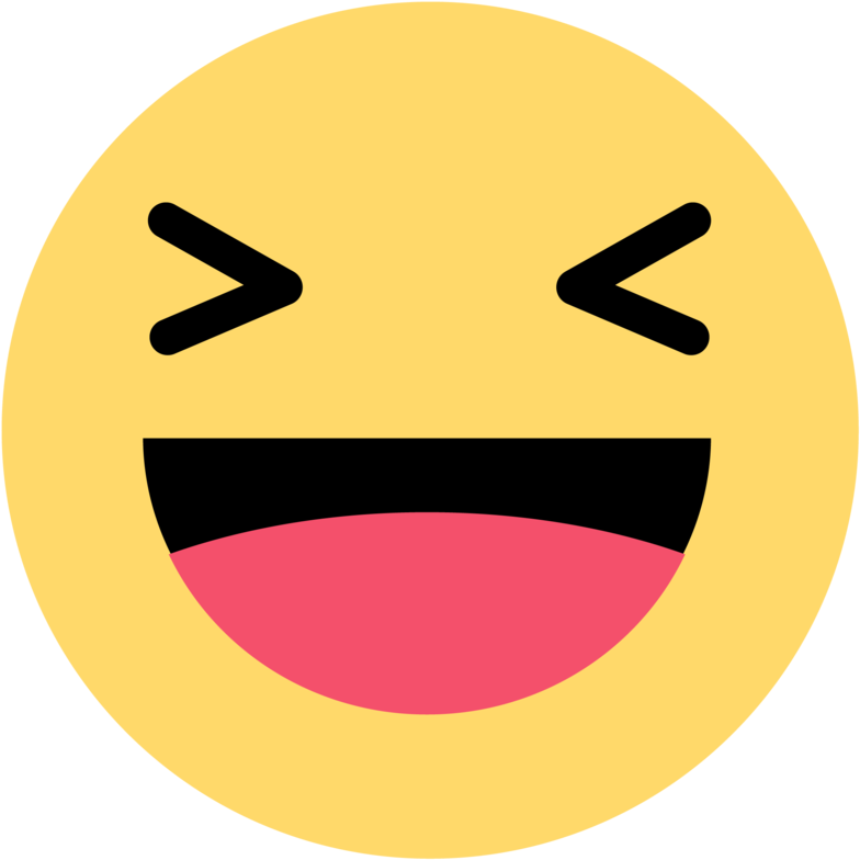 Emoji facebook clipart svg royalty free This Png File Is About Emoticons , Haha - Facebook Haha Emoji Png ... svg royalty free