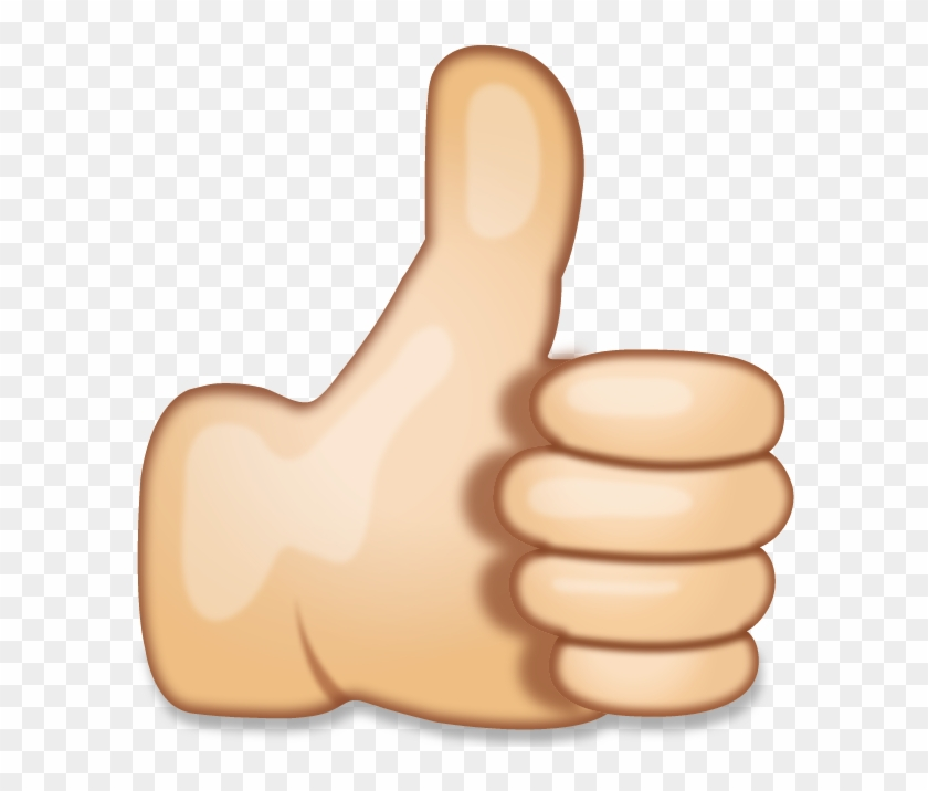 Hand Emoji Clipart Point - Thumbs Up Emoji Png, Transparent Png ... stock
